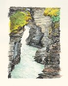 "Canyon River III 5.5""x7.75"""